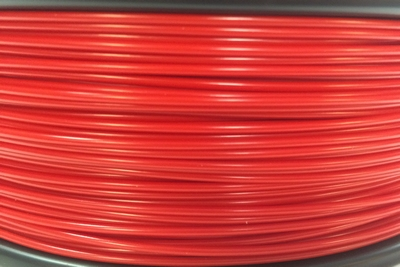 PLA 3 mm, Kleur Red, 750gram.