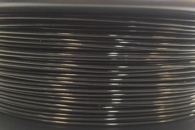 PA12 Nylon 3 mm, Kleur Black, 500gram.