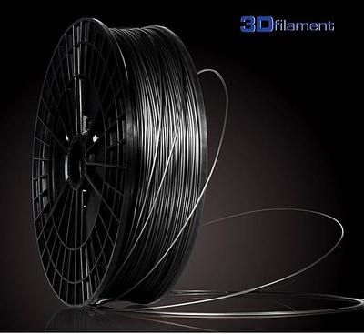 PLA Filament flexibel 3mm Kleur: Zwart