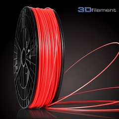 ABS Filament 3mm Kleur: Flaming Red