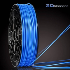 ABS Filament 3mm Kleur: Ocean Blue
