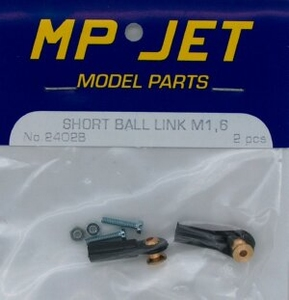 Ball Link Short Socket M1.6 (2) MPJ-2402B