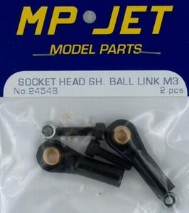 Ball Link Short Socket M3 (2) MPJ-2454B