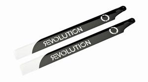 325mm FB 3D Carbon Main Blades by Revolution - RVOB032500