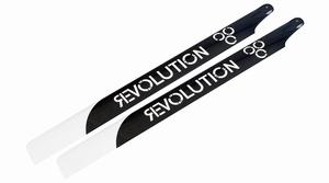 520mm FB 3D Carbon Main Blades by Revolution - RVOB052000