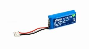 E-flite 200mAh 2S 7.4V 30C Li-Po Battery - EFLB2002S30