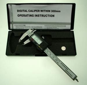Digitale Schuifmaat RVS 100mm, LCD