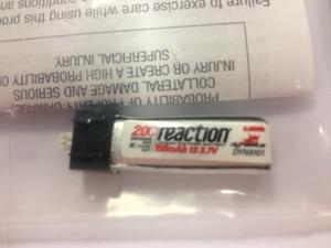 Dynamite Reaction Air 3.7V 150mAh 1S 20C - DYN9101