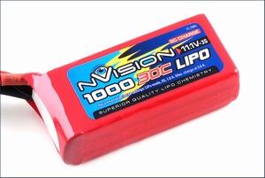 nVision LiPo 3s 11,1V 1000 30C