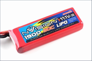 nVision LiPo 3s 11,1V 1900 30C