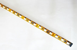 Led Strip 60 Led/mtr, Rood/Groen/Blauw, 0.9mtr Zelfklevend