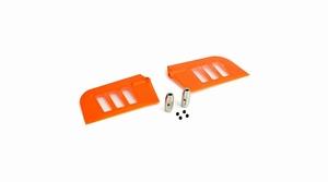 Flybar Paddle Set, Orange: B500 3D