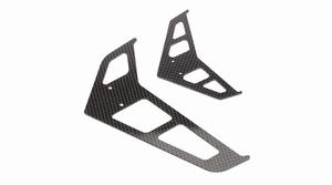 Carbon Fiber Fin Set: B500 3D/X - BLH1872C