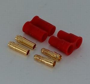 Goudplug 3.5mm met houder V2