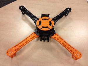Flying Dutch 500 Quadcopter 3D Printer