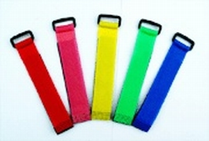 Klittenband 20CM x 2CM (per stuk) kleur Blauw