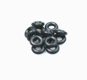 Plastic feathering shaft ring (10PCS) 3.0mm KDS-1003-3