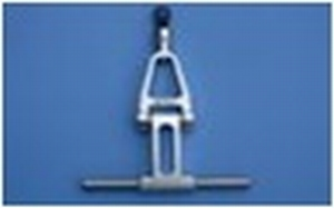 Metal aileron lever A50U010