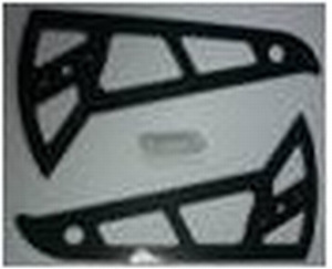Carbon vertical stabilizer A50V007