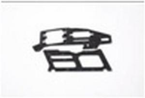 Carbon frame plate KDS-1137-250