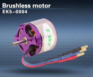 ek5-0004 Brushless motor 40g 3100 rpm/v 001132