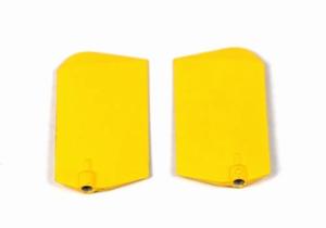ek1-0512 Plastic paddle (geel) 000333