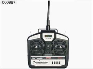 2.4GHz 4CH Transmitter mode 2 000987