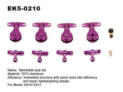 ek5-0210 Aluminium main blade grip set 001103