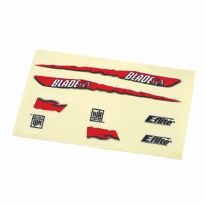 Decal Sheet, Red Graphics: BMCX - EFLH2229
