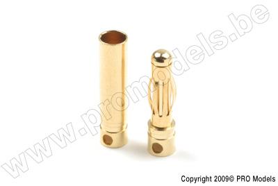 4.0mm goudstekker