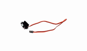 SV80 Long Lead Servo: T-28/P-51D/Extra 300/F4F by ParkZone