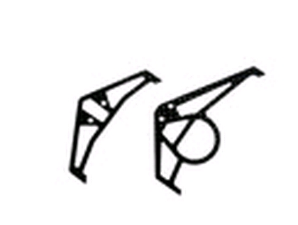 esl016 Graphite Tail Fins - BLACK