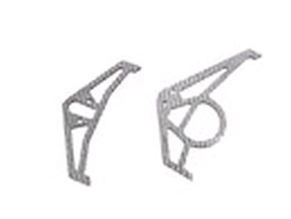 esl017 Graphite Tail Fins - SILVER