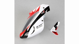 Complete White Canopy with Vertical Fin MSRX - BLH3218