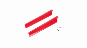 Main Rotor Blades, Red (2): MSRX - BLH3216RE