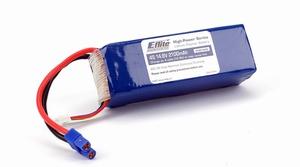E-flite 2100mAh 4S 14.8V 20C LiPo, 13AWG EC3