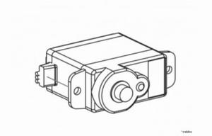 Heck NES 8 g servo - vervanger voor NE480090
