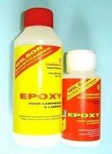 Langzame dunne Epoxy 300GR (ideaal voor gebruik bij glasmat)