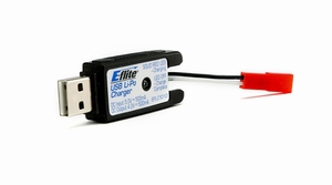1S USB Li-Po Charger, 500mA, JST:  by E-flite