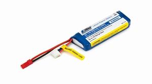 E-flite 800mAh 2S 7.4V 20C LiPo 20AWG JST - EFLB8002SJ