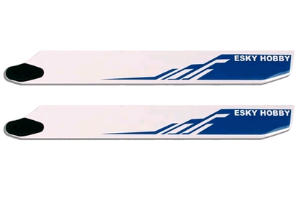 ek4-0004L Blue wooden blade 001471