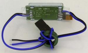 Switched UBEC 5V/6V - 3A. shielded (HWUBEC)