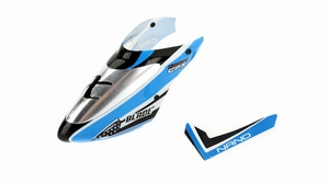 Complete Blue Canopy with Vertical Fin: nCP X - BLH3318A