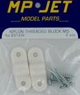 Schroefblok M5 Nylon (2) MPJ-2612W