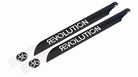 520mm FBL 3D Carbon Main Blades by Revolution - RVOB052050