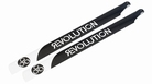 550mm FBL 3D Carbon Main Blades by Revolution - RVOB055050