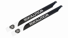 690mm FBL 3D Carbon Main Blades by Revolution RVOB069050
