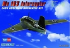 German ME163 Fighter 1:72