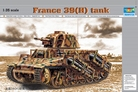France 39(H) TANK SA 38 37mm gun - 1:35