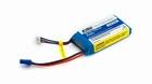 E-flite 1300mAh 2S 7.4V 20C LiPo, 18 AWG EC2